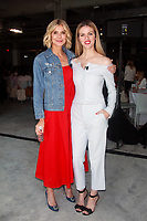 NEW YORK, NY - AUGUST 8: Whitney Casey and Brooklyn Decker at #BlogHer18 Creators Summit in New York City on August 8, 2018. <br /> CAP/MPI99<br /> &copy;MPI99/Capital Pictures