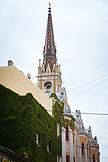 SERBIA, Novi Sad, Novi Sad Cathedral's main Steeple, Eastern Europe