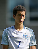 Nathan Holland (Everton) of England U19 during the International match between England U19 and Netherlands U19 at New Bucks Head, Telford, England on 1 September 2016. Photo by Andy Rowland.