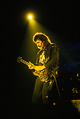 BLACK SABBATH - Tony Iommi - performing live on the Headless Cross Tour of the UK - Sep1989. Photo credit: Pete Cronin/IconicPix