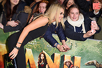 Tallia Storm at the &quot;Jumanji: Welcome to the Jungle&quot; premiere at the Vue West End, Leicester Square, London, UK. <br /> 07 December  2017<br /> Picture: Steve Vas/Featureflash/SilverHub 0208 004 5359 sales@silverhubmedia.com