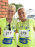 Bridget and Christine Halpeny who took part in the Seamie Weldon 5K Run in Ardee. Photo:Colin Bell/pressphotos.ie