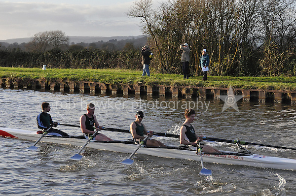 502 WRG Worcester. Wycliffe Small Boats Head 2011. Saturday 3 December 2011. c. 2500m on the Gloucester Berkeley Canal