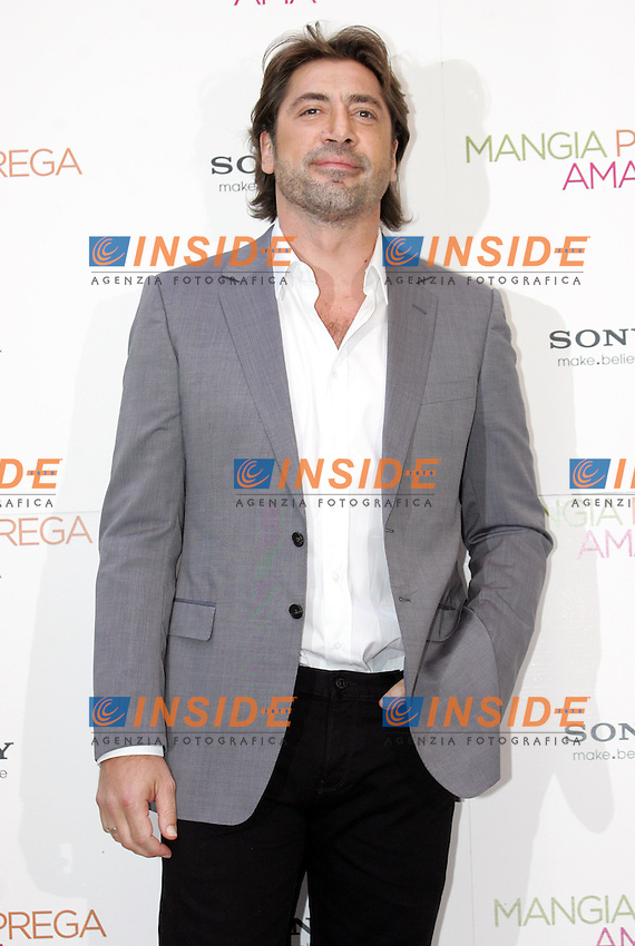 JAVIER BARDEM<br /> Roma 16/09/2010 Photocall del film Mangia Prega Ama.<br /> Eat Pray Love - Photocall in Rome, Hotel St Regis.<br /> Photo Samantha Zucchi Insidefoto