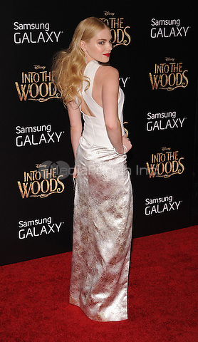 New York,NY-December 8: Mackenzie Mauzy  Attends the 'Into The Woods' world premiere at the Ziegfeld Theater on December 8, 2014. Credit: John Palmer/MediaPunch