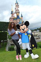 Serena Williams goes to Disneyland Paris - France