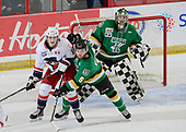 Brooks, AB - May 12 2019 - Brooks Bandits vs. Portage Terriers during the 2019 National Junior A Championship at the Centennial Regional Arena in Brooks, Alberta, Canada (Photo: Matthew Murnaghan/Hockey Canada)