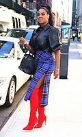 November 04, 2019  Kenya Moore at BuzzFeed to talk about season 12 of Real Housewives of Atlanta in New York.November 04, 2019. Credit:RW/MediaPunch