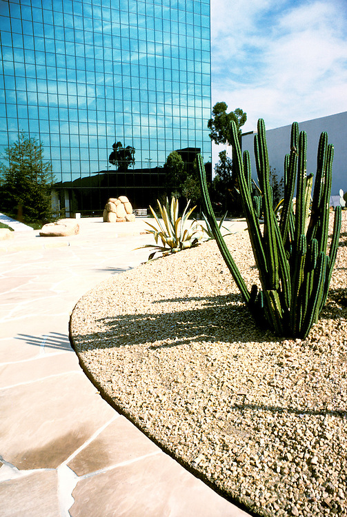California: Costa Mesa, Art, Noguchi Sculpture Garden. Photo canogu101.Photo copyright