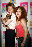 Mary Tyler Moore & Bernadette Peters<br />attending BROADWAY BARKS 10 : The 10th Annual Adopt-a-thon at Shubert Alley in New York City.<br />July 12, 2008