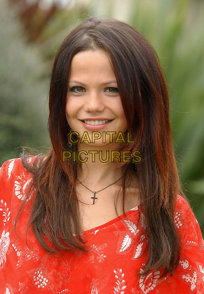 "TAMMIN SURSOK.(who plays  Dani Sutherland).at Home and Away DVD launch of.""Secrets and the City"" .at Kensington Roof Gardens.sales@capitalpictures.com.www.capitalpictures.com.©Capital Pictures.headshot, portrait"
