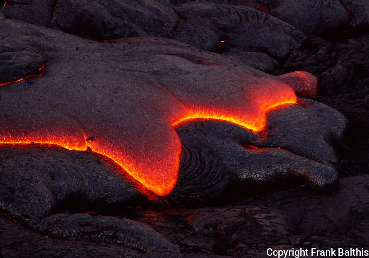 lava at Hawaii Volcanoes NP