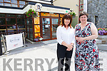 Kathleen Gormley and Cara Trant at the Kerry Writers Muesum in LIstowel on Tuesday afternoon