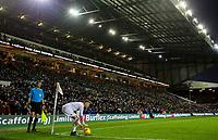 Leeds United's Barry Douglas prepares to take a corner <br /> <br /> Photographer Alex Dodd/CameraSport<br /> <br /> The EFL Sky Bet Championship - Leeds United v Queens Park Rangers - Saturday 8th December 2018 - Elland Road - Leeds<br /> <br /> World Copyright &copy; 2018 CameraSport. All rights reserved. 43 Linden Ave. Countesthorpe. Leicester. England. LE8 5PG - Tel: +44 (0) 116 277 4147 - admin@camerasport.com - www.camerasport.com
