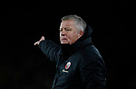 Chris Wilder manager of Sheffield Utd during the Premier League match at Bramall Lane, Sheffield. Picture date: 10th January 2020. Picture credit should read: Simon Bellis/Sportimage