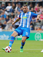 Vedad Ibisevic      <br /> / Sport / Football / pre season friendly Bundesliga  DFL /  2018/2019 / 15.08.2018 / Hertha BSC Berlin vs. Hscher FC Chemie HFC / DFL regulations prohibit any use of photographs as image sequences and/or quasi-video. /<br />       <br />    <br />  *** Local Caption *** &copy; pixathlon