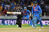 10th February 2019, Seddon Park, Hamilton, New Zealand; 3rd T20 International, New Zealand versus India;    Kane Williamson batting