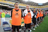 DC United bench.   DC United defeated Chivas USA 3-2 at RFK Stadium, Saturday  May 29, 2010.