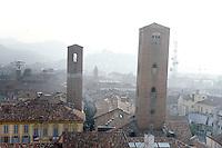 Una veduta di Alba, con le sue torri medievali.<br /> A view of Alba, Piedmont, with its medieval towers.<br /> UPDATE IMAGES PRESS/Riccardo De Luca