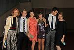 "Prospect Park's All My Children's Jill Larson ""Opal Cortlandt"", Eric Nelsen ""AJ Chandler"", Jordan Lane Price ""Celia Fitzgerald"", Denyse Tontz ""Miranda Montgomery"", Robert Scott Wilson ""Pete Cortlandt"" and Julia Barr ""Brooke English"" at New York Premiere Event for beloved series ""All My Children"" on April 23, 2013 at NYU Skirball, New York City, New York  as The Online Network (TOLN) - AMC - OLTL  begin airing on April 29, 2013 on Hulu, Hulu Plus. (Photo by Sue Coflin/Max Photos)"