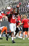 22 September 2007: North Carolina State's Darrell Blackman. The Clemson University Tigers defeated the North Carolina State University Wolfpack 42-20 at Carter-Finley Stadium in Raleigh, North Carolina in an Atlantic Coast Conference NCAA College Football Division I game.