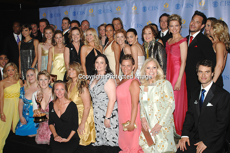 Guiding Light cast and crew for Best Show..posing for photographers in the Press Room at The 34th Annual Daytime Emmy Awards on June 15,2007 at The ..Kodak Theatre in Hollywood, California. ..Robin Platzer, Twin Images......212-935-0770