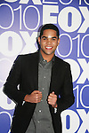 Dijon Talton stars in GLEE as he attends the FOX 2010 Programming Presentation (Upfronts) Post-Party on May 18, 2010 at Wollman Rink in Central Park, New York City, New York.  (Photo by Sue Coflin/Max Photos)