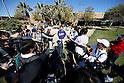 Kenta Maeda (Dodgers),<br /> FEBRUARY 20, 2016 - MLB :<br /> Kenta Maeda of the Los Angeles Dodgers is interviewed by the press during the Los Angeles Dodgers spring training baseball camp in Glendale, Arizona, United States. (Photo by AFLO)