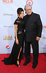 PASADENA, CA - SEPTEMBER 16: Eva Longoria and Edward James Olmos arrive at the 2012 NCLR ALMA Awards at Pasadena Civic Auditorium on September 16, 2012 in Pasadena, California.
