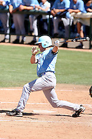Kevin Muno, San Diego Toreros, playing in the NCAA Tempe Regional against Wisconsin-Milwaukee at Packard Stadium, Tempe, AZ - 06/05/2010.  Photo By Bill Mitchell / Four Seam Images