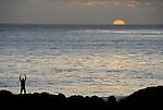 Sunset near Lighthouse Point