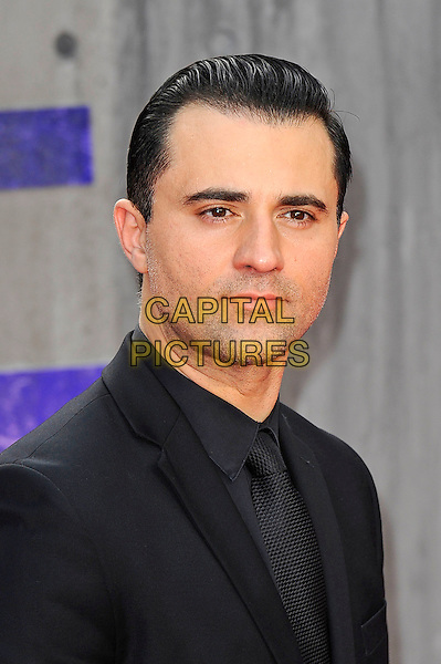LONDON, ENGLAND - AUGUST 3: Darius Campbell attending the 'Suicide Squad' European Premiere at Odeon Cinema, Leicester Square on August 3, 2016 in London, England.<br /> CAP/MAR<br /> &copy;MAR/Capital Pictures