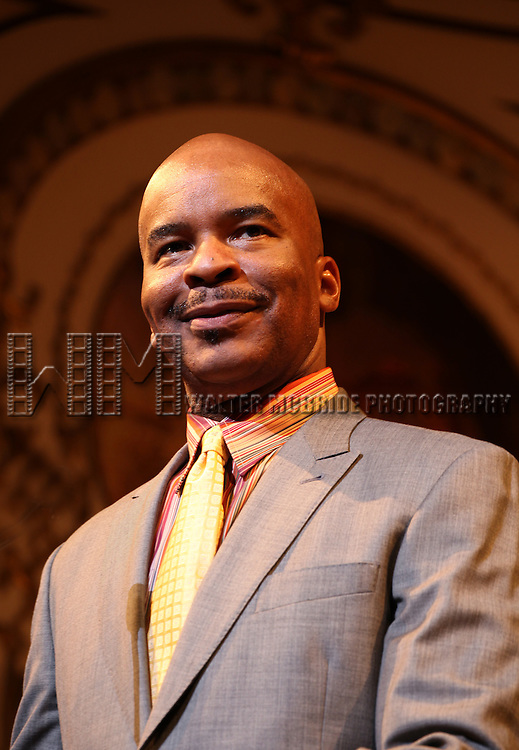 David Alan Grier.during the 68th Annual Theatre World Awards at the Belasco Theatre  in New York City on June 5, 2012.