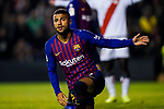 Rafael Alcantara Do Nascimento, Rafinha, of FC Barcelona reacts during the La Liga 2018-19 match between Rayo Vallecano and FC Barcelona at Estadio de Vallecas, on November 03 2018 in Madrid, Spain. Photo by Diego Gouto / Power Sport Images