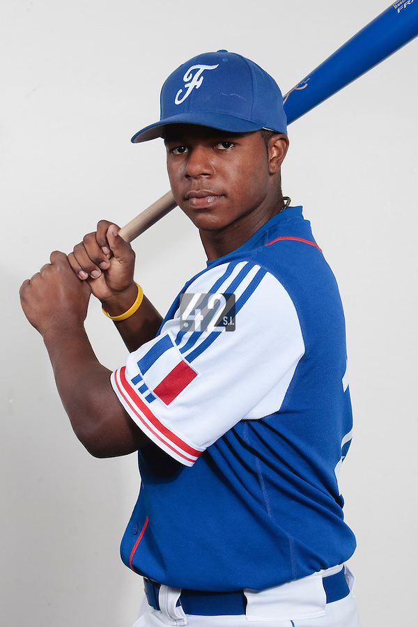 23 july 2010: Omar Williams poses prior to the 2010 European Championship Seniors, in Mulhouse, France.
