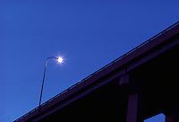 Highway street light.