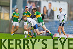 Donal Maher Kerry in action against Gavin O'Shea IT Tralee in the McGrath cup at Austin Stack Park on Sunday.