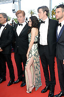 "Danny Morgan, Kristen Stewart and Sam Riley attending the ""On the Road"" Premiere during the 65th annual International Cannes Film Festival in Cannes, 23.05.2012...Credit: Timm/face to face"