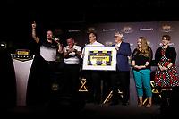 2018 Continental Tire SportsCar Challenge Awards, <br /> Travis Roffler, David Pettit, Continental Staff