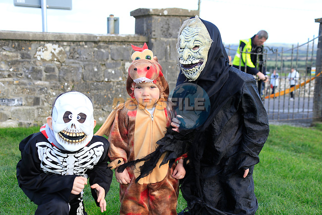 Jason Aiden and David Reynolds at the fancy dress in Slane<br /> Picture: Fran Caffrey www.newsfile.ie