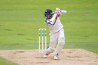 Picture by Allan McKenzie/SWpix.com - 06/09/2017 - Cricket - Specsavers County Championship - Yorkshire County Cricket Club v Middlesex County Cricket Club - Headingley Cricket Ground, Leeds, England - Yorkshire's Jack Leaning hits out against Middlesex.