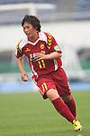 Megumi Takase (Leonessa), MAY 7th, 2011 - Football : Plenus Nadeshiko League 2011 between NTV Beleza - INAC Kobe Leonessa at Komazawa Stadium, Tokyo, Japan. (Photo by YUTAKA/AFLO SPORT) [1040]