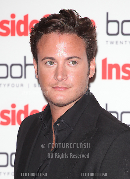 Gary Lucy arriving for the 2012 Inside Soap Awards, at No.1 Marylebone, London. 24/09/2012 Picture by: Alexandra Glen / Featureflash