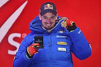 ARE,SWEDEN,06.FEB.19 - ALPINE SKIING - FIS Alpine World Ski Championships, Super G, men. Image shows Dominik Paris (ITA) Gold Medal <br /> Photo: GEPA pictures/ Mario Kneisl/Insidefoto <br />  <br /> ITALY ONLY