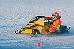 Matt Schulz pilots his #38 around the AMSOIL World Championship Derby track, 2016.