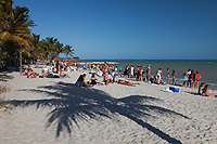 Key West Beach, Florida Keys, FL, America, USA.