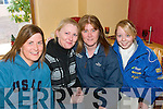 HUNT ORGANISERS: Kerry Farmers Hunt Club organisers in Hughies bar, Cordal on Sunday morning were l-r: Kelly and Marie Murray (Keel),  Kitty Flynn (Killorglin) and Lisa Reidy (Abbeyfeale).   Copyright Kerry's Eye 2008