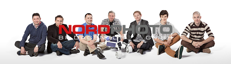 02. 05. 2013., Croatia, Zagreb - Members of Team Staller, led by Stjepan Badic, will launch a robot to the Moon. On the Moon robot must cross 500 meters and send photos and videos to the Earth. It is designed for the world competition Google  LunarX prize, and the team who first performe the task will win 20 million dollars. 23 teams from all over the world are trying to win the competition. <br />   Foto &not;&copy; nph / Danijel Berkovic/PIXSELL