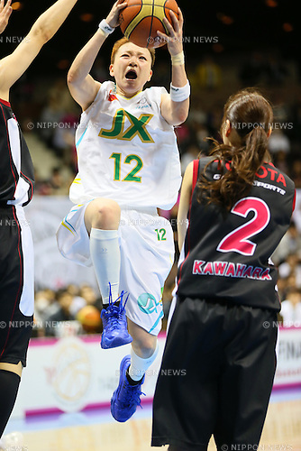 Asami Yoshida (Sunflowers), MARCH 19, 2013 - Basketball : The 14th Women's Japan Basketball League Playoffs Final Game #4 between Toyota Antelopes 61-72 JX Sunflowers at 2nd Yoyogi Gymnasium, Tokyo, Japan. (Photo by AFLO SPORT) [1156]