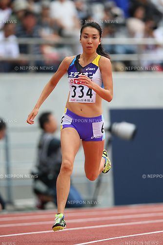 Ruriko Kubo, <br /> JUNE 8, 2013 - Athletics : <br /> The 97th Japan Track &amp; Field National Championships <br /> Women's 800m <br /> at Ajinomoto Stadium, Tokyo, Japan. <br /> (Photo by YUTAKA/AFLO SPORT) [1040]